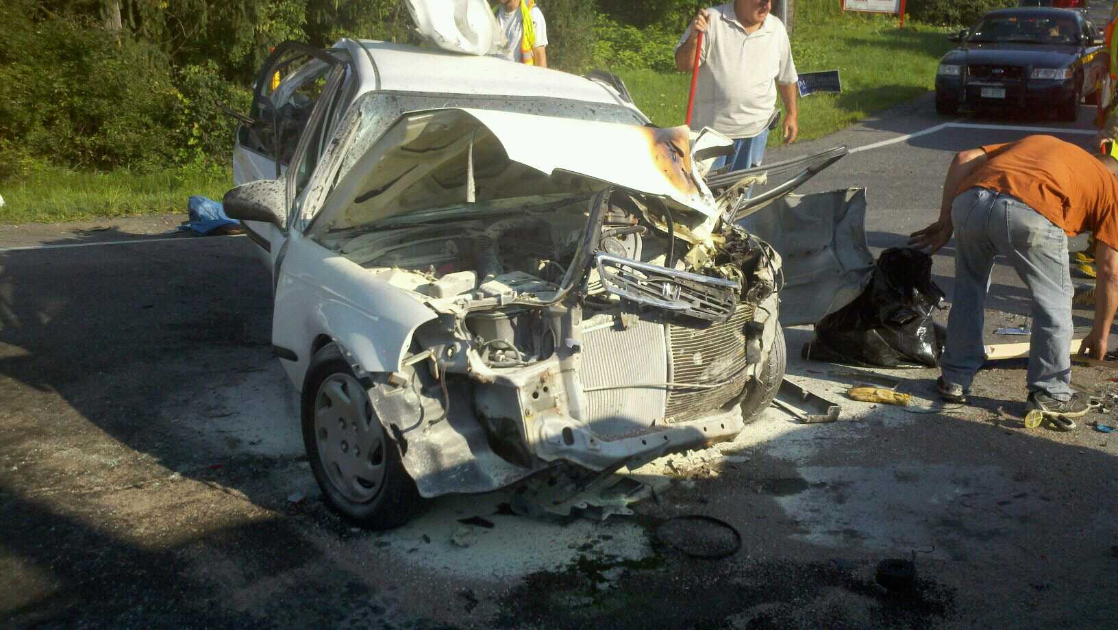Morning accident in Wilton cleared, Route 50 reopened   Wilton Fire